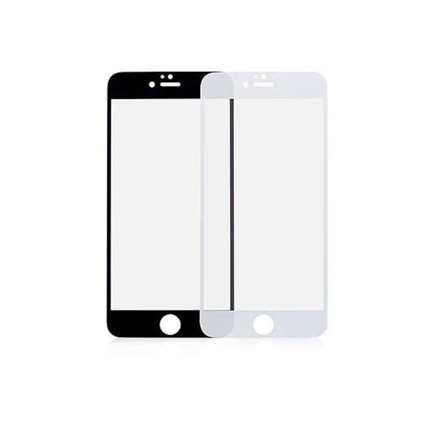 cf8c1eccc02 iPhone 6/6S Plus kaitseklaas (3D) – must ja valge – ekraanikaitse.ee